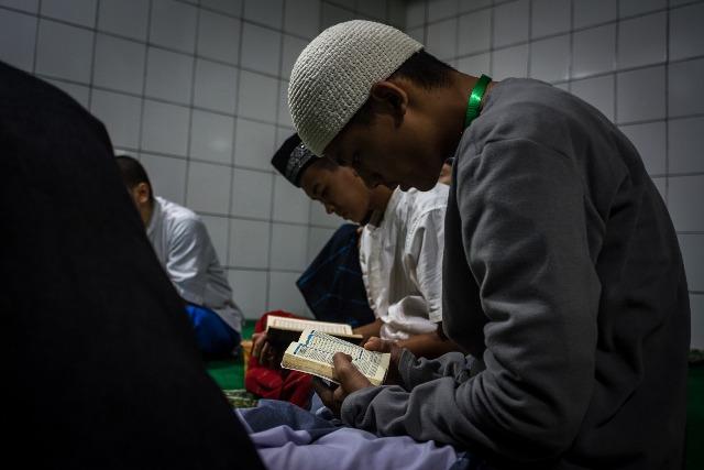 Zaid khataman Quran di Pesantren Sains